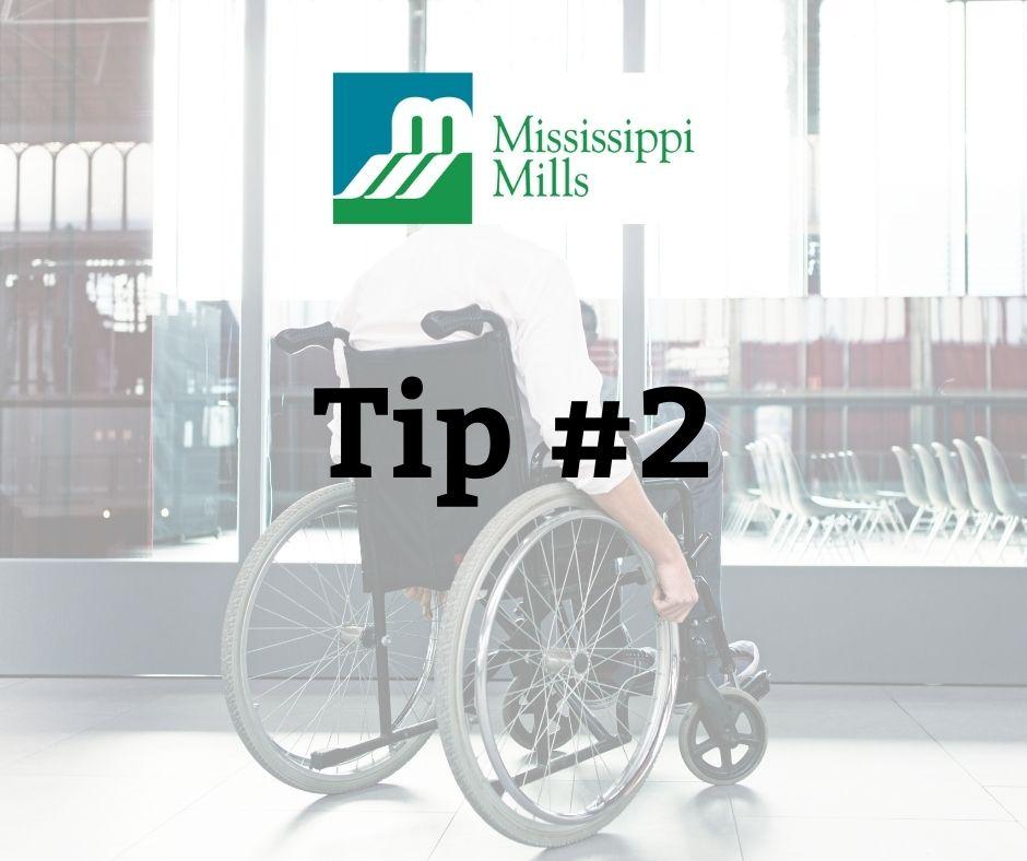 National AccessAbility Awareness Wee - Tip #2