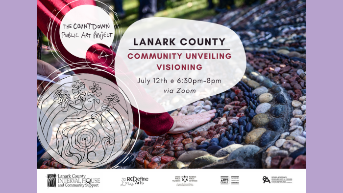 Community Visioning Event Poster